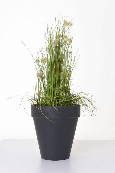 blumentopf-pflanztopf-rund-sandstein-anthrazit-scuros
