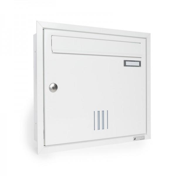 Briefkasten ZWICK Helldorado unterputz weiß RAL 9016 matt