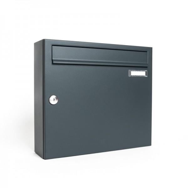 Briefkasten ZWICK Master RAL 7016 Wandmontage Suedtirol