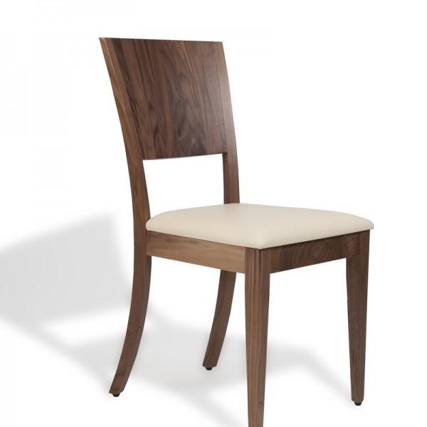 sedia nocciola molto elegante qualità