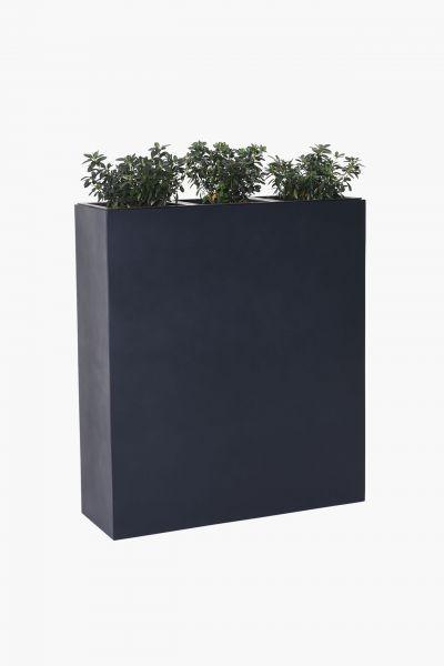 raumteiler-sichtschutz-pflanzkuebel-fiberglas-anthrazit-Elise-