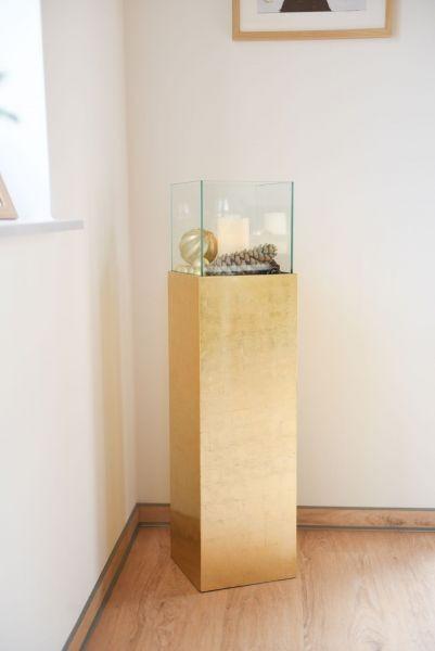 windlichtsaeule-windlicht-kerzenhalter-fiberglas-gold-hochglanz-lumo